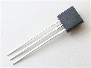 Picture of Linear Active Thermistor,MCP9700-E/TO