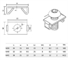 Picture of Spring Fastener - 40 Series
