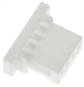 Picture of 4 way crimp terminal housing,1mm pitch, JST SH