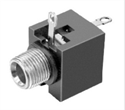 Picture of Audio Socket - Panel Mount  - 3.5mm - Stereo