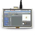 """Picture of 5.0"""" HDMI Touch Resistive Screen 800X480 for Raspberry Pi"""