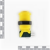 Picture of Concave Button - Yellow