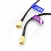 Picture of Active GSM and GPS Antenna - External with SMA Male connector, 55x12mm